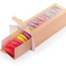 Упаковка для макаронс и эклеров